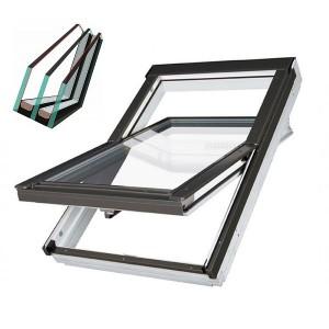 Вологостійке вікно Fakro PTP-V U4 (двокамерний склопакет)
