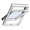 Окно Velux GLP 0073 B, пластиковое, ручка снизу.