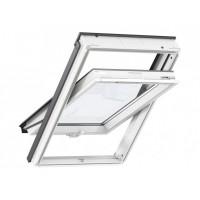 Вікно Velux GLU 0051B 78x98 нижня ручка, вологостійке